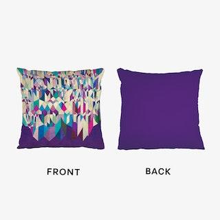 Purple Town Cushion