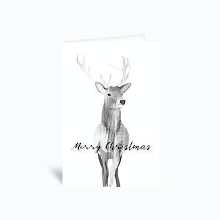 Deer Greetings Card