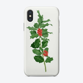 Holly Iphone Phone Case