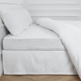 Aurore Fitted Sheet - White