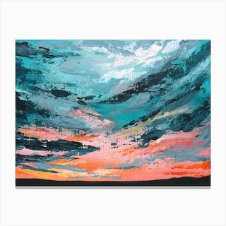 Turquoise Skies Canvas Print