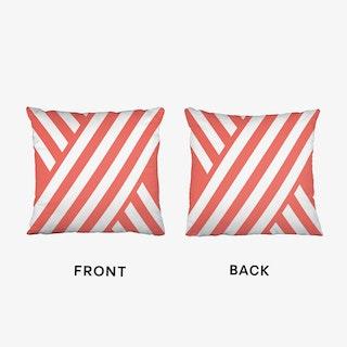 X Pink Cushion
