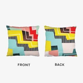 Colorblock Cushion