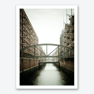 Warehouse District Hamburg 1 Art Print