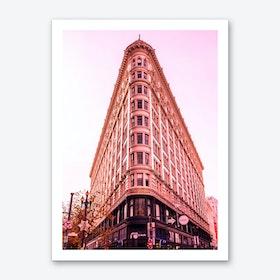 Pink Phelan Building Art Print