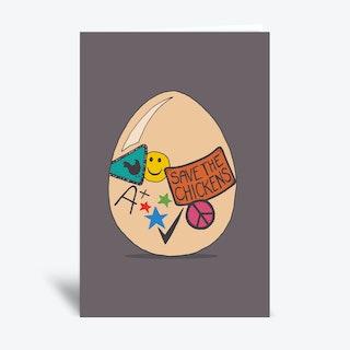 Good Egg  Greetings Card