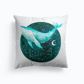 Cosmic Whale1 Cushion