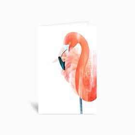 Pink Lady Greetings Card