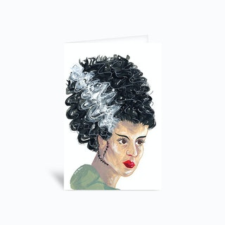 Bride Of Frankenstein Sambulll Greetings Card