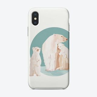 Snow Cuddles Phone Case