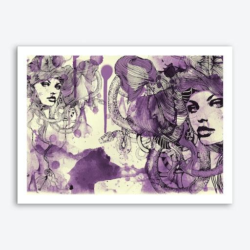 Viola 2 Art Print