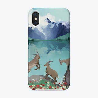 The Hills Are Alive Phone Case