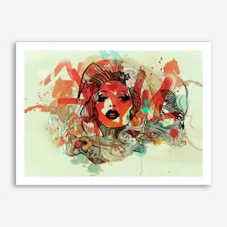 Zebra 2b Art Print