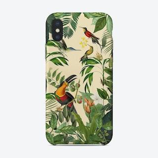 Jungle Toucan Yellow Phone Case