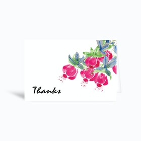 Thanks Greetings Card