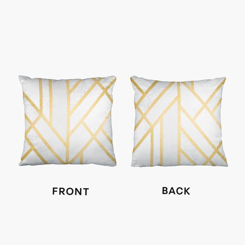 Art Deco Geometry II Cushion