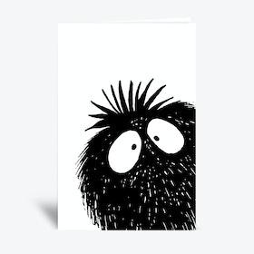 Peekaboo  Greetings Card