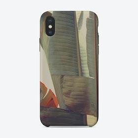 Banana Leaf 3 iPhone Case