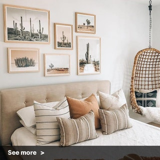 Cacti Lovers Gallery Wall