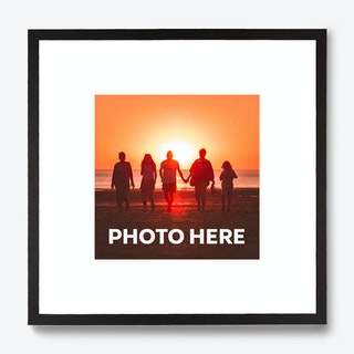 Framed Caption Single Photo Print