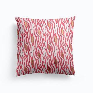 Pink Zebra Cushion