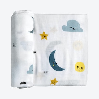 Moon and Stars Swaddle