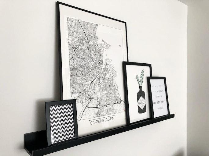 Copenhagen Map Minimal