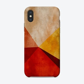 Geometric Landscape Phone Case