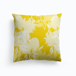Floral Gold Cushion