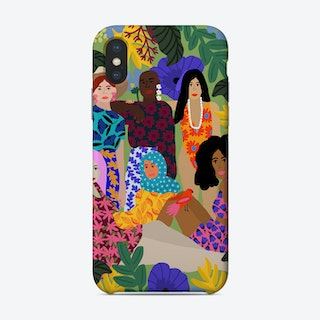 We Support Each Other Phone Case