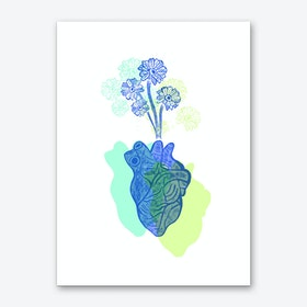 Love Bloom Art Print
