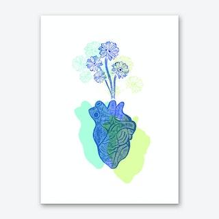 Love Bloom Art Print