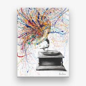 Louder Canvas Print