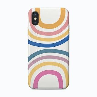 Double Upside Down Rainbow Phone Case
