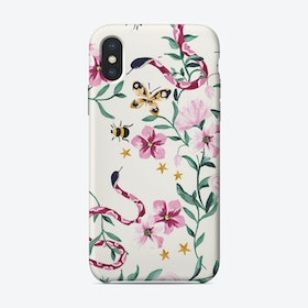 Floralsnake iPhone Case