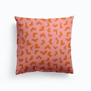 Geometric Safari Cushion
