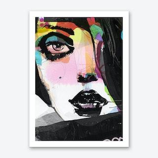 Not Black Art Print