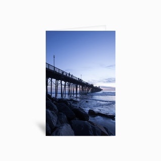 The Blue Hour Greetings Card