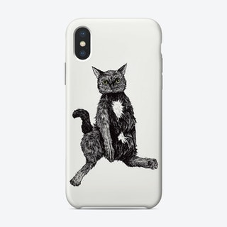 Chunky Cat Phone Case