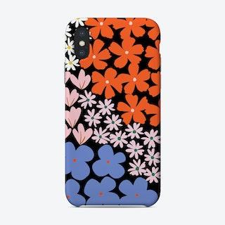 Plant More Flowers Black Phone Case