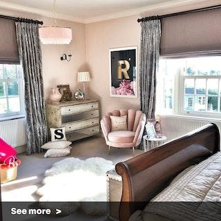 Glamorous Velvet Bedroom