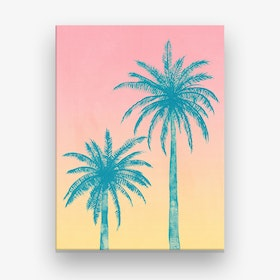 Palms Trees Canvas Print