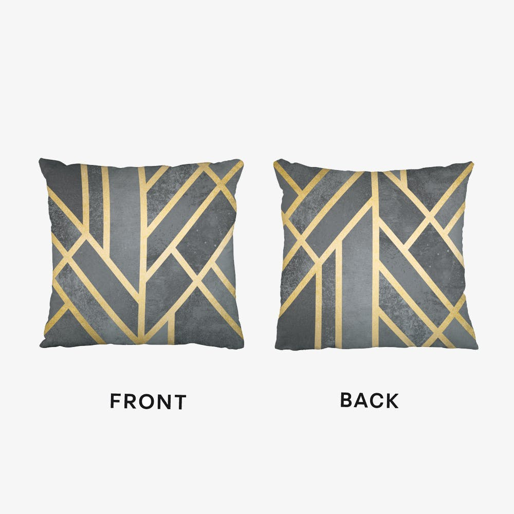 Art Deco Geometry Cushion