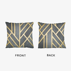 Art Deco Geometry Cushion
