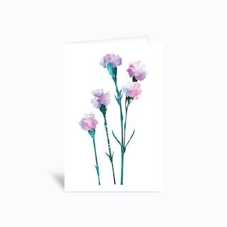 Flower Power Greetings Card