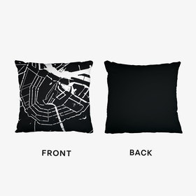 Amsterdam Canals Cushion