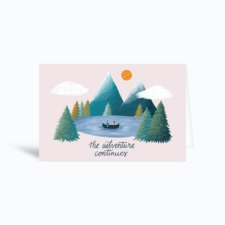 Adventure Greetings Card