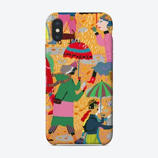 Fall Reading Club Phone Case