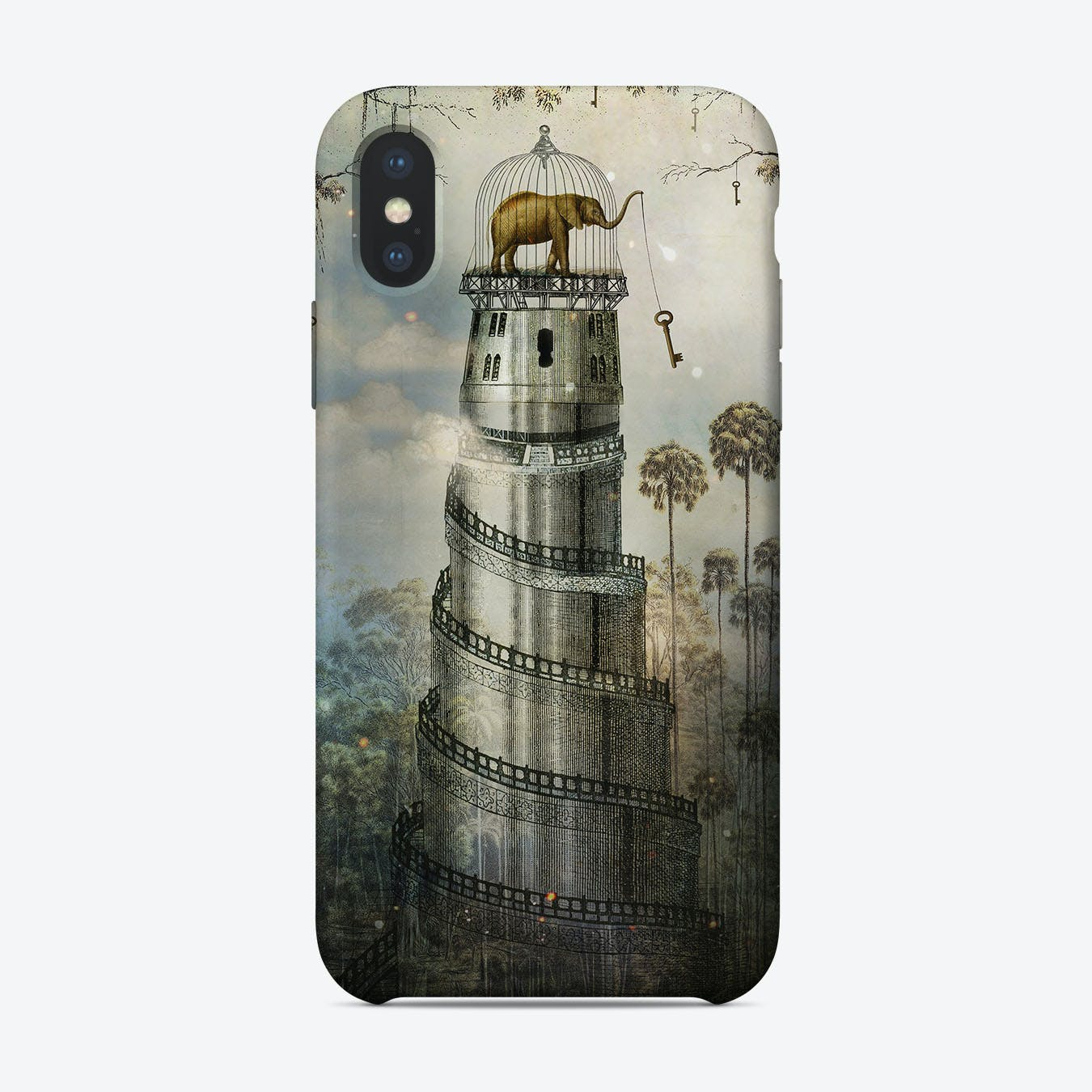 Where Keys Hang On Trees Phone Case