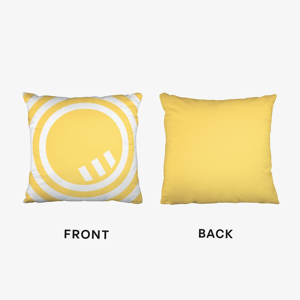 Abstract Multi Line Cushion